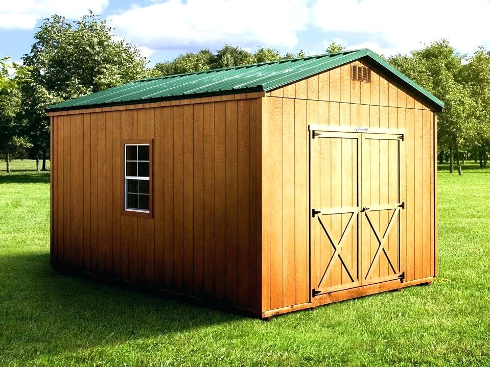 Advantages of Building Outdoor Sheds
